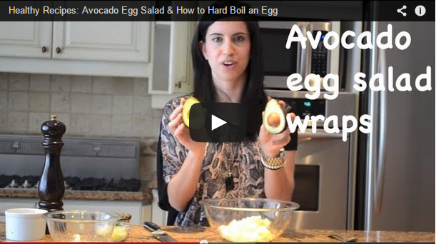 Avocado Egg Salad and How to Hard Boil an Egg
