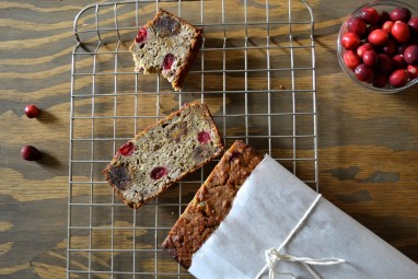 Gluten-free cranberry loaf