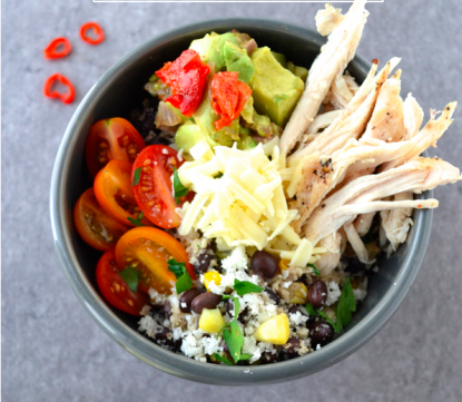Video: Cauliflower Burrito Bowl