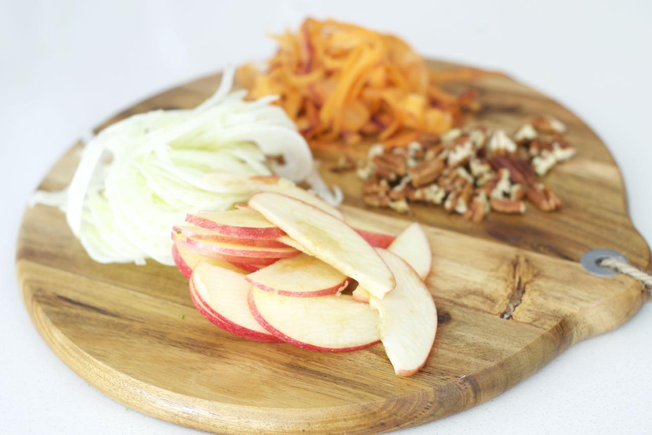 Ingredients lentil salad motive nutrition