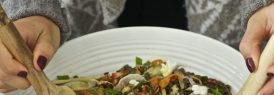 Autumn lentil salad