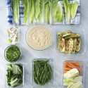 How to prep vegetables for the week