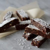 Cherry and cocoa energy bars