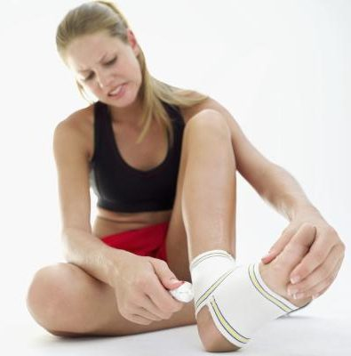 Don't let a sports injury weigh you down