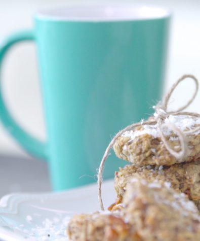 Chewy sugar-free energy cookies