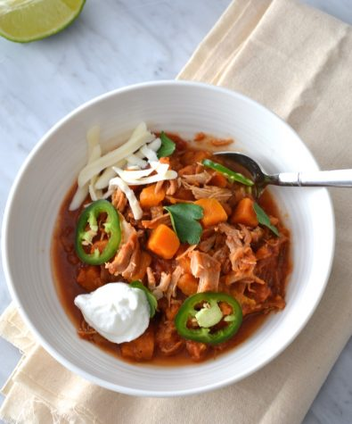Slow-cooker Chipotle Chicken Chili